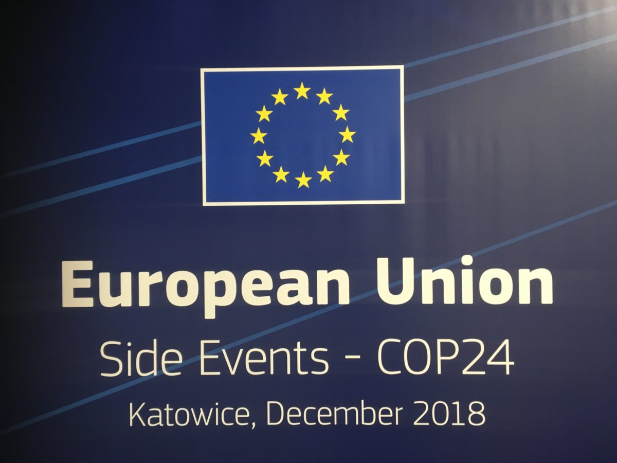COP24: Side-event in Katowice